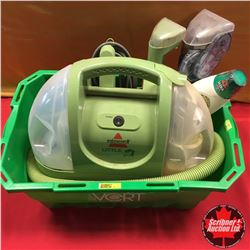 Little Green Steam Machine w/Carry Basket
