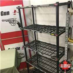 Rubbermaid Shelving Unit 6'