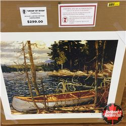 "CHOICE OF 10: Limited Edition Print : ""The Canoe"" Group of Seven 556/777"