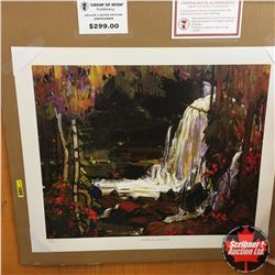 "CHOICE OF 10: Limited Edition Print : ""Woodland Waterfalls"" Group of Seven 73/777"