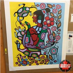 "CHOICE OF 10: Limited Edition Print : ""Shaman and Turtle"" Norval Morrisseau 335/950"