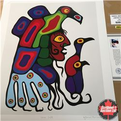 "CHOICE OF 10: Limited Edition Print : ""Inner Self"" Norval Morrisseau 494/950"