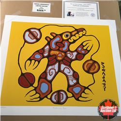 "CHOICE OF 10: Limited Edition Print : ""Medicine Bear"" Norval Morrisseau 353/950"