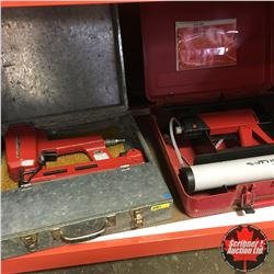 "Air Stapler ""Haubold Airfix"" + Hilti Epoxy Injection Gun"