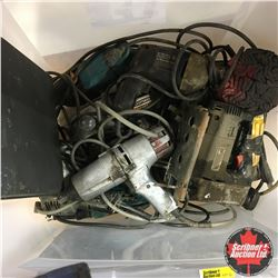 Tote Lot: Variety Power Tools! Must Look!