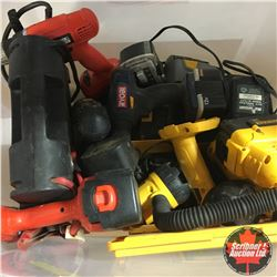 Tote Lot: Variety Cordless Power Tools ! Must Look !
