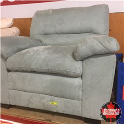 Sofa Chair (Mint Green) Micro Suede