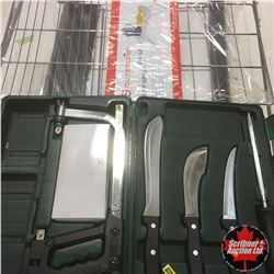 Ducks Unlimited Knife Set + Camp Grill