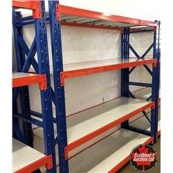 "CHOICE OF 6: Warehouse Steel Shelving Racks 78""x24""x78"""