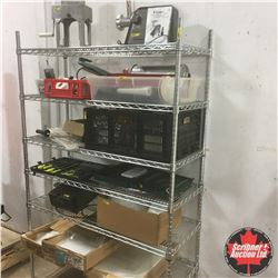 """Stainless Steel Shelving Unit 72"""" x 48"""" x 18"""""""