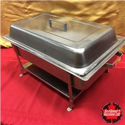 CHOICE OF 10:  Stainless Steel Chafing Dish on Stand
