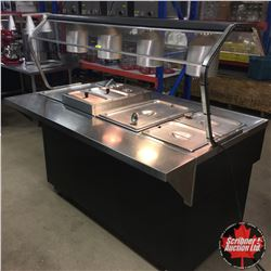 """Quest"" Hot or Cold Buffet Rolling Service Island (Comes with Trays, Dishes & Cutlery etc)"