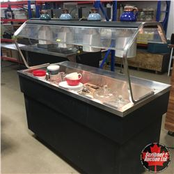 """Quest"" Cold Buffet Rolling Service Island (Comes with Trays, Dishes & Cutlery etc)"
