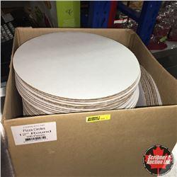 "Box Lot: Pizza Circles 12"" Round"