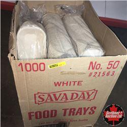 Box Lot: French Fry Trays