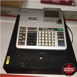 Casio Electric Cash Register Model PCR-T520 (Grey)