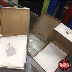 Edible Oil Grease Filters & 8x11 Wax Sheets & Vacuum Bags