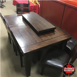 Ashley Furniture - Dining Table & 4 Chairs & Bench