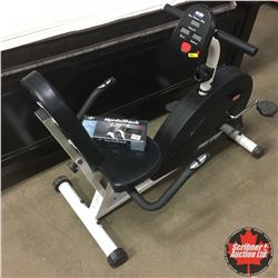 Free Spirit Recumbent Exercise Bike & Ankle/Wrist Weights