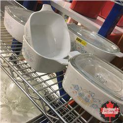 Corningware (5 Pieces)