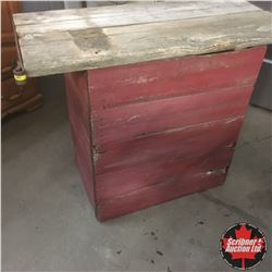 Rustic Barn Board Bar