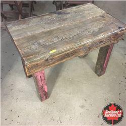 Rustic Barn Board Table