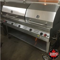 "Silver Giant 60"" Commercial BBQ - Propane : Model SGC60  (150,000BTUH)"