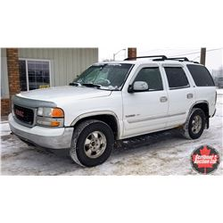 2003 GMC Yukon AWD - 8 Seat - Leather Loaded - Entertainment System  (ODM Shows: 395,000)