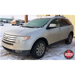 2007 Ford Edge - Leather Loaded - DVD System Back Seat (ODM Shows: 281,000)