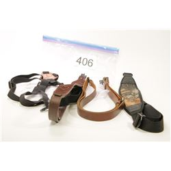 3 Rifle Slings and Bino Harness