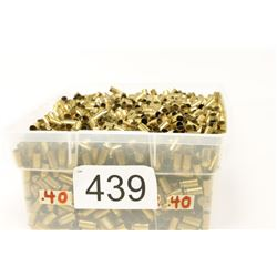 Bulk 40 Cal. Brass Casings