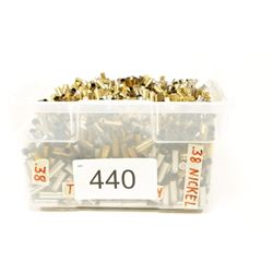 Bulk 38 Special Mixed Brass
