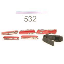 5 Victorianox Multi-tools