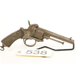 Antique Pinfire Revolver