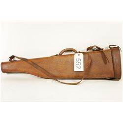 Hard Leather Take Down Gun Case