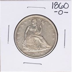 1860-O Seated Liberty Half Dollar Coin