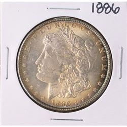 1886 $1 Morgan Silver Dollar Coin