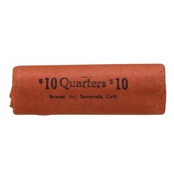 Roll of (40) 1963-D Brilliant Uncirculated Washington Quarters