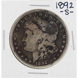 1892-S $1 Morgan Silver Dollar Coin