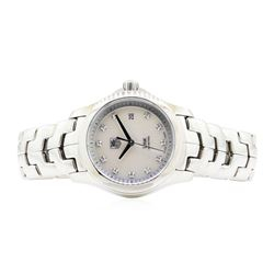 Stainless Steel Ladies Tag Heuer Link Wristwatch