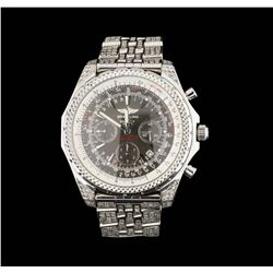 Breitling for Bentley Motors Stainless Steel Watch