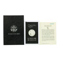 1882-CC $1 Morgan Silver Dollar Coin Uncirculated GSA w/ Box & COA