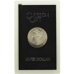 1884-CC $1 Morgan Silver Dollar Coin GSA Amazing Toning