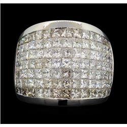 14KT White Gold 5.00 ctw Diamond Ring