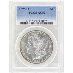 1895-O $1 Morgan Silver Dollar Coin PCGS AU53