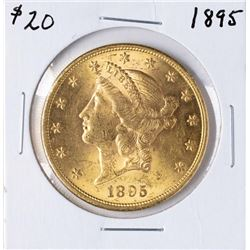1895 $20 Liberty Head Double Eagle Gold Coin
