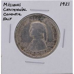 1921 Missouri Centennial Commemorative Half Dollar Silver Coin
