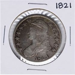1821 Capped Bust Half Dollar Coin