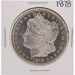 1878 8TF PL $1 Morgan Silver Dollar Coin