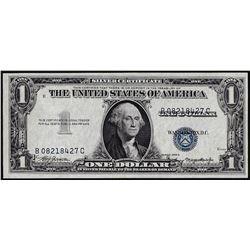 1935A $1 Silver Certificate Note Misaligned Overprint ERROR